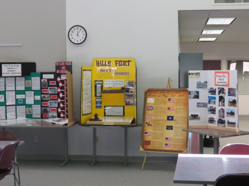 displays at Kaskaskia College