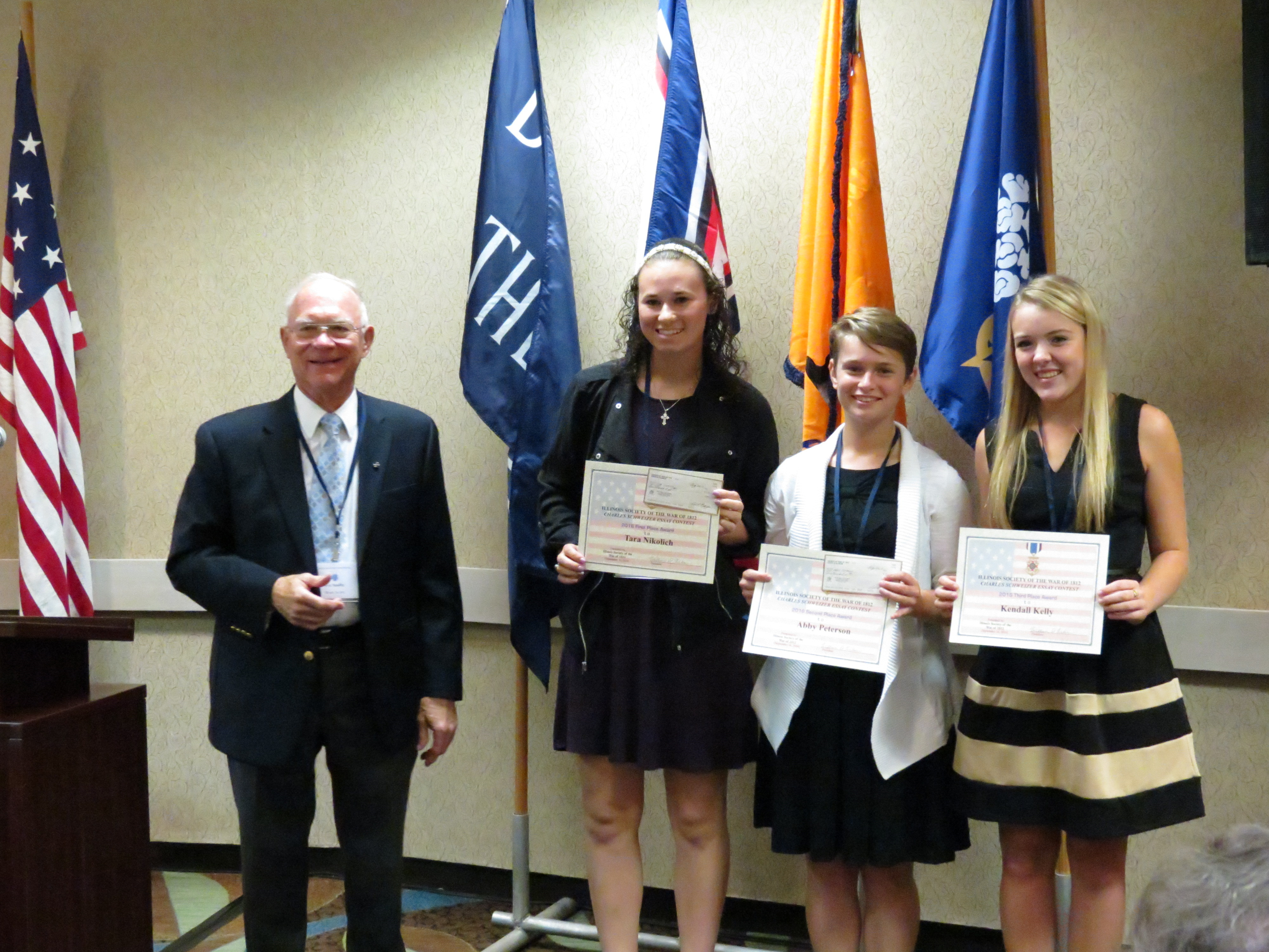 Scholarship winners for state